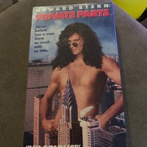 Howard Stern's Private Parts VHS Tape - SEALED
